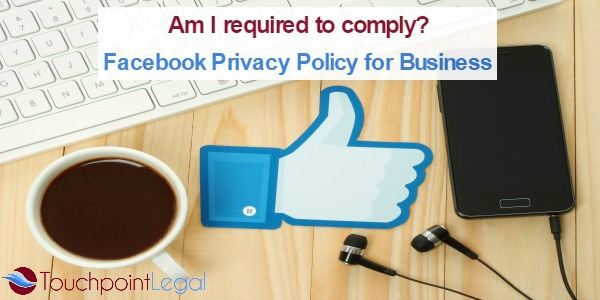 Touchpoint Legal Facebook Privacy Policy